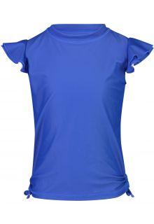 Snapper-Rock---UV-Badeshirt-für-Mädchen-mit-Flatterärmel---Blau-