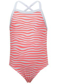 Snapper-Rock---UV-Badeanzug---Orange-Crush---Weiß/Orange