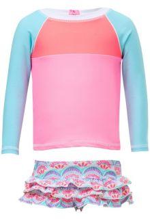Snapper-Rock---UV-Badeset-langärmlig---Tutti-Frutti---Pink/Blau
