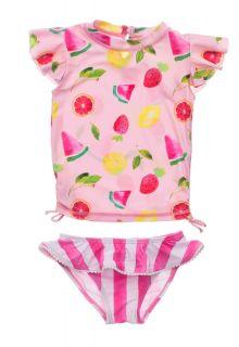 Snapper-Rock---UV-Badeset-für-Babies---Kurzarm---Fruit-Fiesta---Rosa
