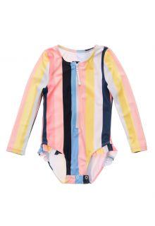 Snapper-Rock---UV-Badeanzug-für-Babies---Langarm---Opti-Stripe---Multi