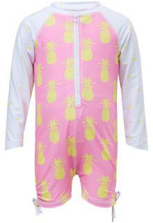 Snapper-Rock---UV-Anzug-Langärmlig---Pineapple-Spot---Rosa/Gelb