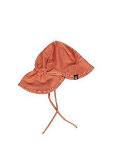 Beach-&-Bandits---UV-Sonnenhut-für-Kinder---Gerippt---Rotbraun