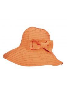 Scala---Aufrollbarer-Hut-für-Damen---Papaya