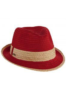 Scala---Fedora-für-Damen---rot