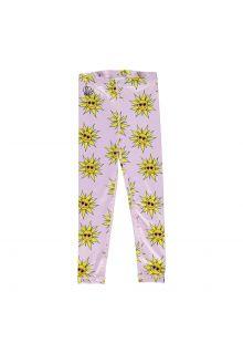 Beach-&-Bandits---UV-Schwimmleggings-für-Mädchen---Sunny-Flower---Rosa