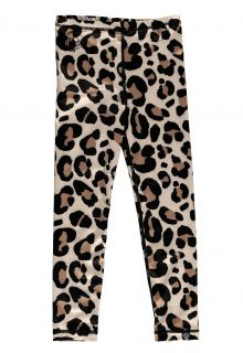 Beach-&-Bandits---UV-Leggings-für-Kinder---Leopard---Beige-/-Black