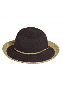 Scala---UV-Hut-mit-Band-für-Damen---Chocolade
