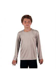 Vapor-Apparel---UV-Shirt-langärmlig-für-Kinder---Grau