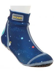 Duukies---Jungen-UV-Strandsocken---Planets-Blue---Dunkelblau