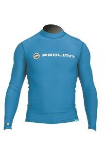 Prolimit---UV-Badeshirt-für-Herren---langärmlig---Blau