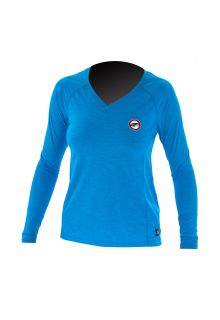 Prolimit---UV-Shirt-für-Damen---langärmlig---Hellblau-/-Rosa