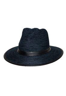 Rigon---UV-Fedorahut-für-Herren---Joel---Marineblau-Meliert