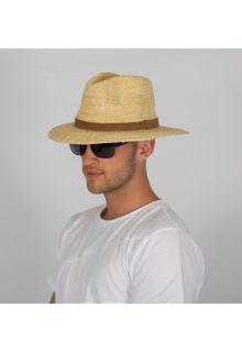 Rigon---UV-Fedorahut-für-Herren---Natur-/-Schoko