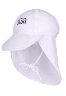 JUJA---UV-Schutzkappe-für-Babys---Solid---Weiß