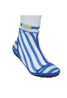 Duukies---Jungen-UV-Strandsocken---Stripe-Blue-White---Blau-Gestreift