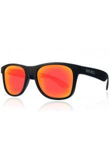 Shadez---polarisierte-UV-Sonnenbrille-für-Erwachsene---Schwarz/Rot