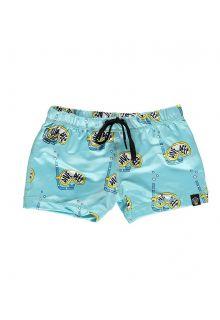 Beach-&-Bandits---UV-Badeshorts-für-Kinder---Dive-Deep---Blau