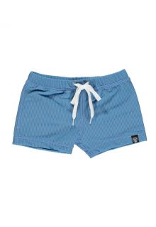 Beach-&-Bandits---UV-Badeshorts-für-Kinder---Gerippt---Riffblau