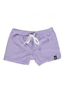 Beach-&-Bandits---UV-Badeshorts-für-Kinder---Gerippt---Lavendel