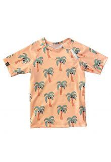 Beach-&-Bandits---UV-Badeshirt-für-Kinder---Palm-Breeze---Sunny-Cream