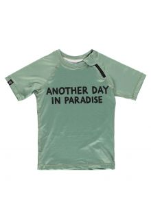Beach-&-Bandits---UV-Badeshirt-für-Kinder---Paradise---Grün