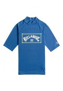 Billabong---UV-Rashguard-für-Herren---Kurzärmelig---Unity---Dunkelblau