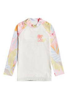 Billabong---UV-Rashguard-für-Mädchen---langarm---Billie-Logo---Salzkristall