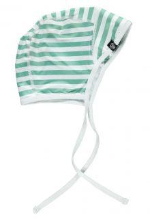 Beach-&-Bandits---UV-Mütze-für-Jungen---Weiß/Grün