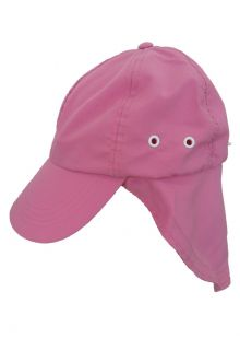 Rigon---UV-Sonnenkappe-für-Kinder-mit-Nackenschutz---Rosa