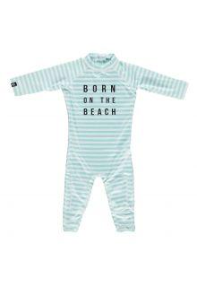 Beach-&-Bandits---UV-Badeanzug-für-Babys---Beach-Boy---Hellblau/Weiß