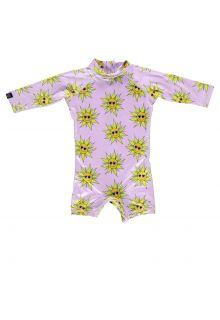 Beach-&-Bandits---UV-Badeanzug-für-Babys---Sunny-Flower---Rosa
