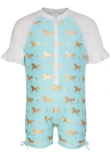 Snapper-Rock---UV-Schwimmanzug-mit-kurzem-Arm---Goldenes-Pferdchen