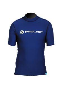 Prolimit---UV-Badeshirt-für-Herren---kurzärmlig---Blau