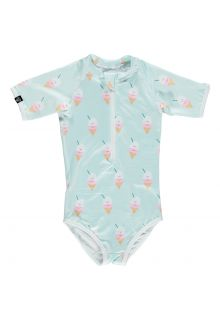 Beach-&-Bandits---UV-Badeanzug-für-Mädchen---Aloha-Ice-Cream---Multi