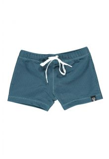 Beach-&-Bandits---UV-Badeshorts-für-Kinder---Ribbed-Kollektion---Ozean