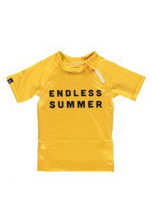 Beach-&-Bandits---UV-Schwimmshirt-für-Kinder---Endless-Summer---Gelb