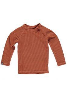 Beach-&-Bandits---UV-Schwimmshirt-für-Kinder---Ribbed-Kollektion---Erdfarbe
