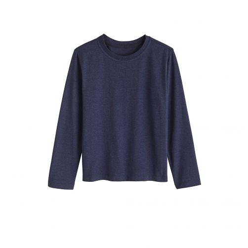 Coolibar---UV-Shirt-für-Kinder---Langarmshirt---Coco-Plum---Navy