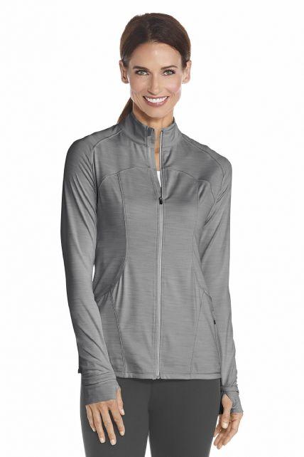 Coolibar---UV-Damen-Fitness-Jacken---Grau
