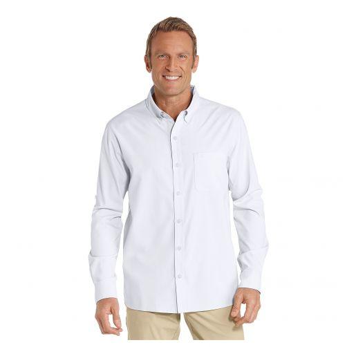 Coolibar---UV-Anzugshemd-für-Herren---Weiß