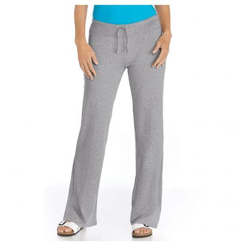 Coolibar---UV-Strandhose-Damen---Grau