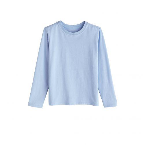 Coolibar---UV-Shirt-für-Kinder---Langarmshirt---Coco-Plum---Vintage-Blue