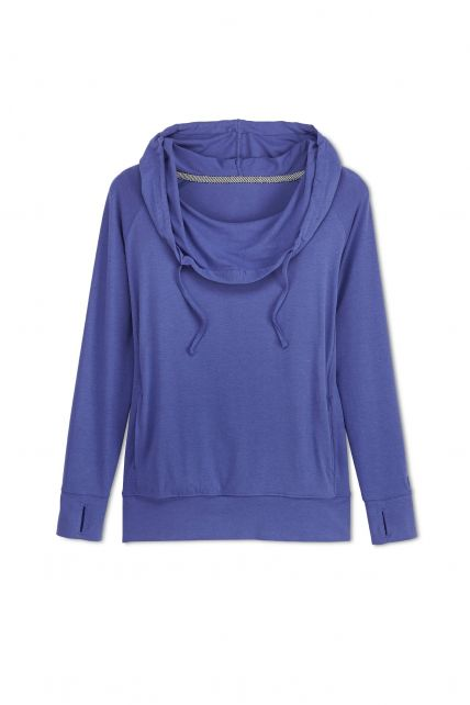 Coolibar---UV-Kapuzenpullover-Damen---Empire-blau