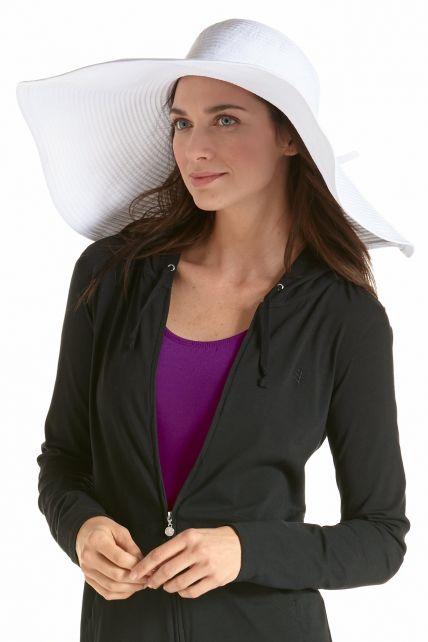 Coolibar---XL-UV-Schlapphut-für-Damen---Weiß