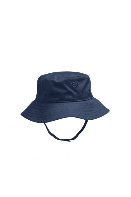 Coolibar---UPF50+-Sonnenhut-für-Baby's-Mädchen---Blau