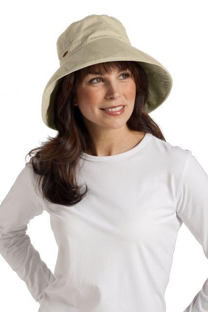Coolibar---UV-Hut-Damen---Tan