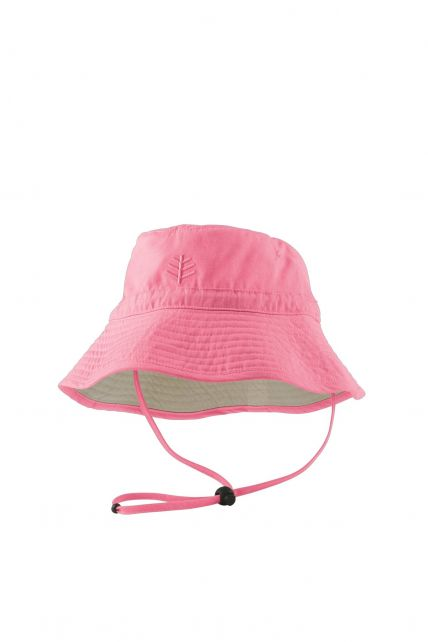 Coolibar---UV-Schutz-Sonnenhut-für-Kinder---Rosa