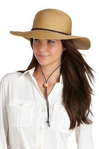 Coolibar---UV-Schutz-Damen-Sonnenhut---natural