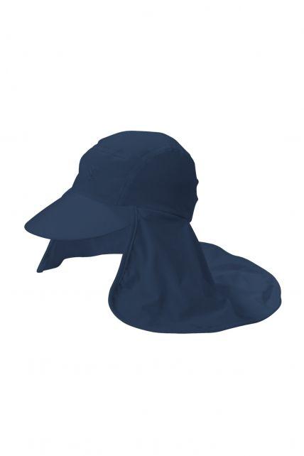 Coolibar---UV-Kopfschutz-Kappe-Herren---Blau